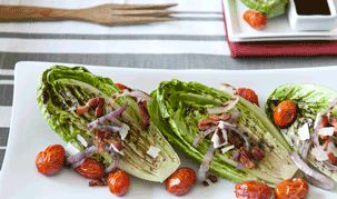 Tanimura & Antle - Recipes - Grilled Romaine BLT