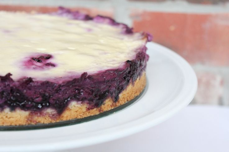 Blueberry Sour Cream Cake--used Greek yogurt instead of sour cream ...