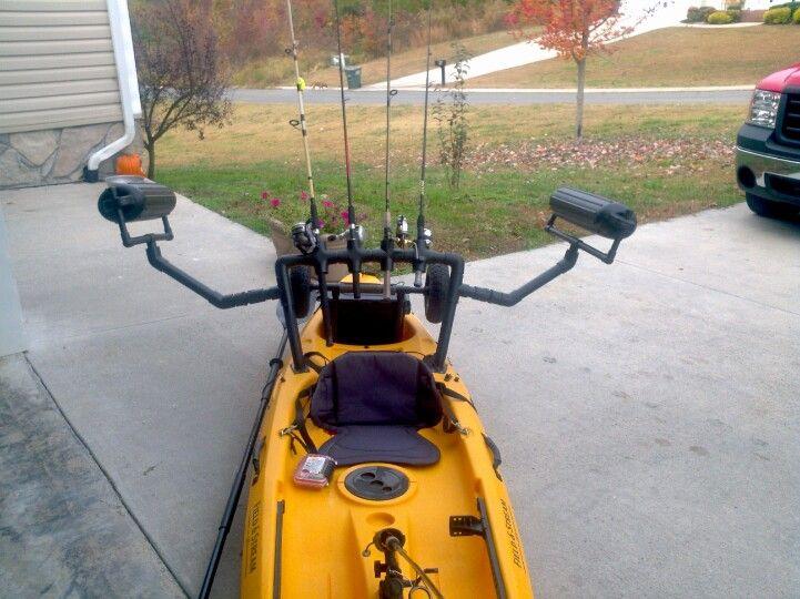 Field And Stream Eagle Talon Fishing Kayak I Added A Rod