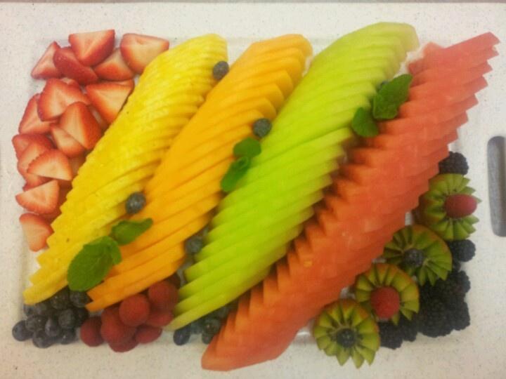 fruit platter how to prepare