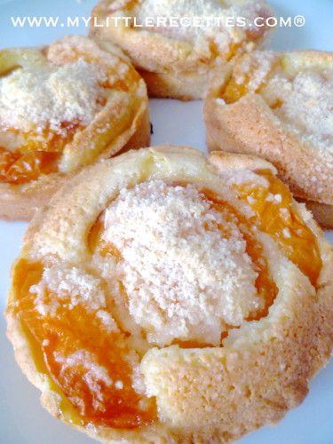 Tartelettes amandes abricots | French patisserie | Pinterest