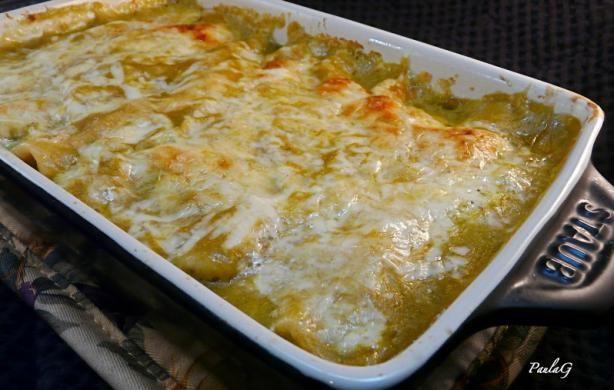 Chicken Enchiladas Verdes Recipe - Food.com - 460369