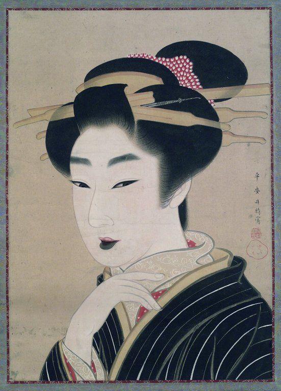 Gion Seitoku 1781 1829 Beauty Ukiyo E 浮世絵 Pinterest