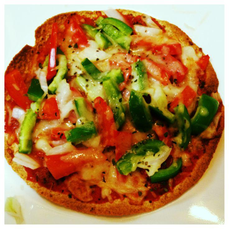 Low-carb veggie pizza thins. | Low carb | Pinterest