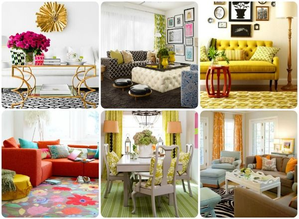Rugs galore...a simple and easy way to completely transform a space!