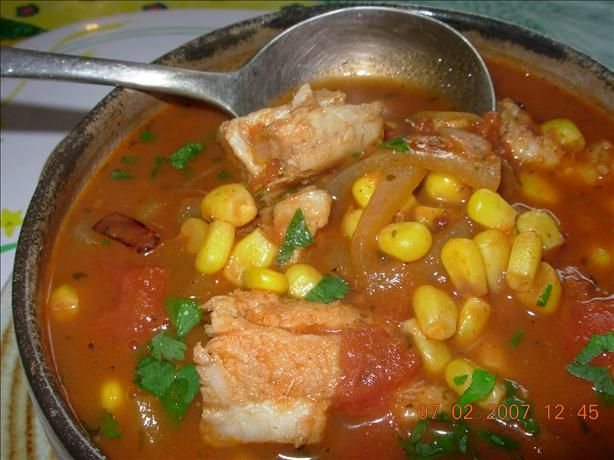 Easy fish stew recipe for Fish soup cod