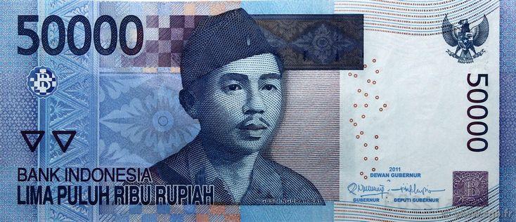 Rupiah Indonesie E Neuf Lencana Pinterest