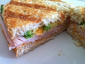 Spicy hummus and turkey panini | Grilled Cheese, Sliders & More | Pin ...