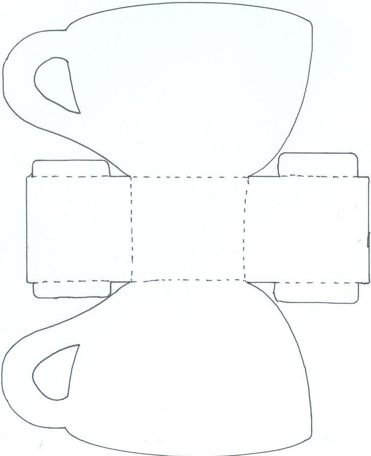 9353c6ebcbb6665548fa8c73911c8582jpg (736×904) Kirigami, card - pyramid template