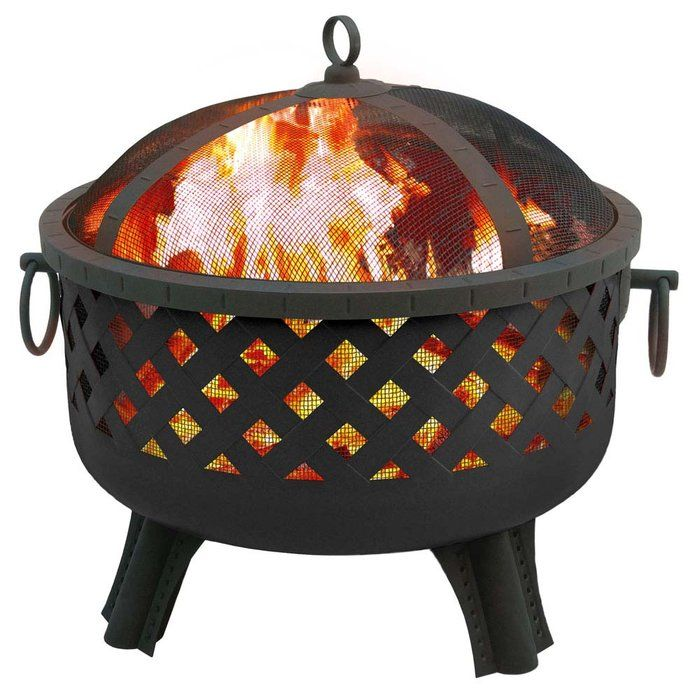 Landmann usa garden lights portable fire pit for How to build a portable fire pit