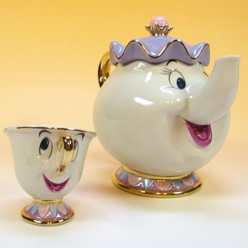 Disney Beauty And The Beast Chip And Disney Tea