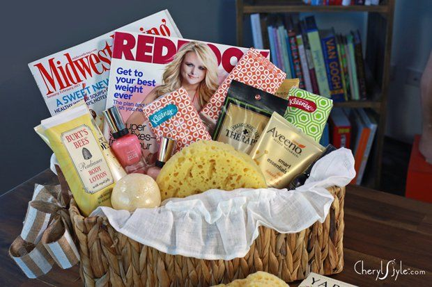 DIY spa basket gift for Mother's Day or any other occassion!