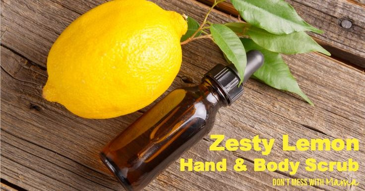and body products and make your own instead this diy lemon body scrub ...