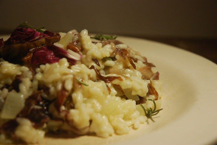 Roasted Radicchio and Provolone Risotto | Favorite Recipes | Pinterest