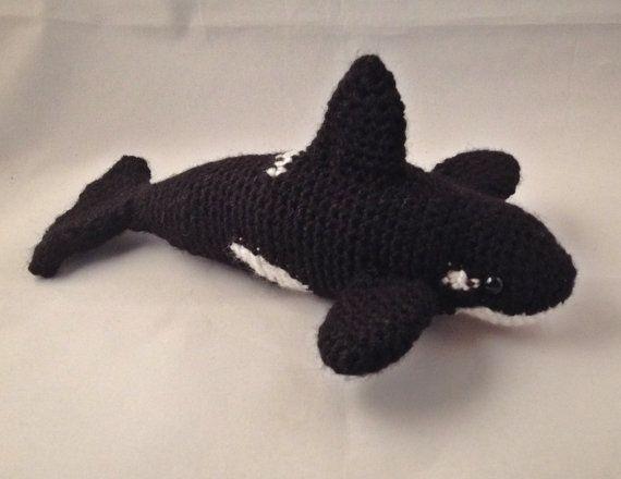 Amigurumi Orca Whale : Crochet Amigurumi Orca (aka Killer Whale)