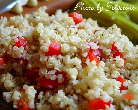 Quinoa side dish - tasty | A way to man's