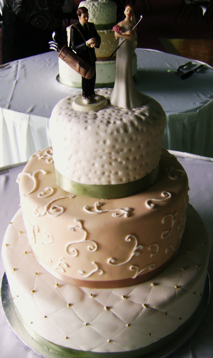Golf Themed Cake Images : Golf themed wedding cake Myrtle Beach Weddings with Golf ...