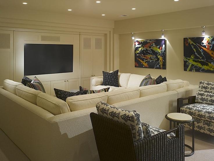 Rec Room Layout Interior Spaces Pinterest