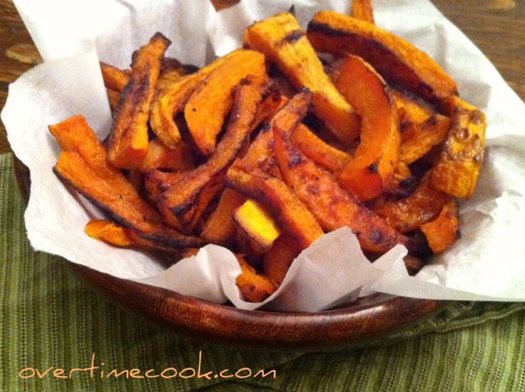 Baked Butternut Squash Fries | Healthy eating and Random Stuff | Pint ...