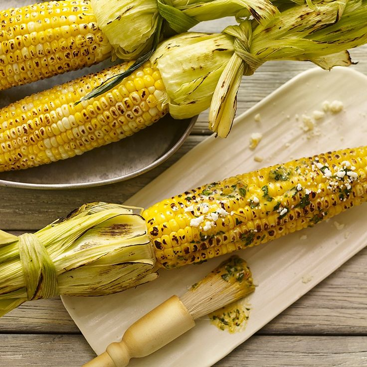 Make grilled corn the star of your barbecue by brushing with Mexican ...