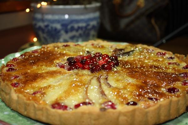 Pear & Cranberry Tart | Food | Pinterest
