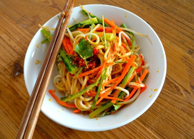 COLD SESAME NOODLES - The Woks of Life
