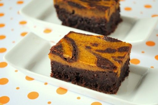 Pumpkin Cheesecake Brownies | Chow | Pinterest