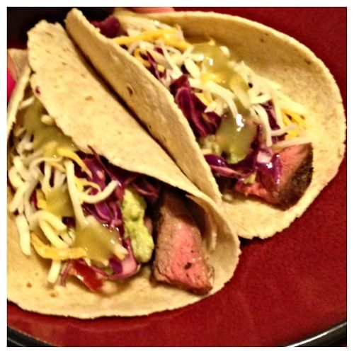 steak tacos chili rubbed skirt steak tacos steak tacos with cucumber ...