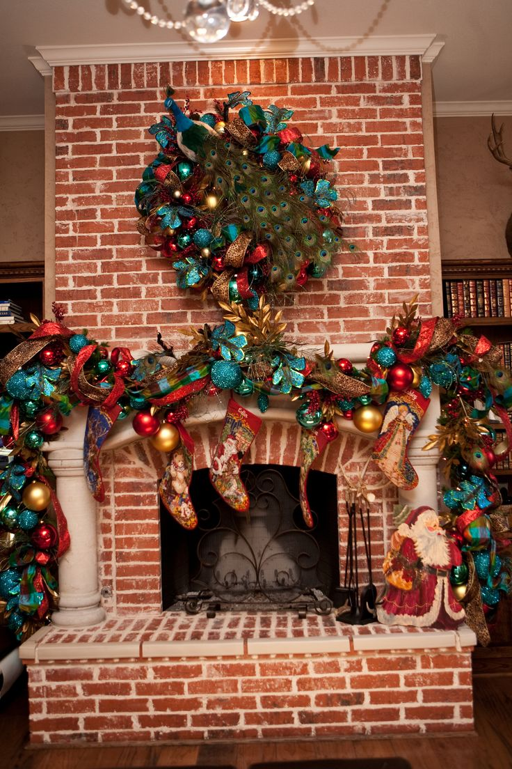 Teal red and gold yes please holiday decor ideas for Yes decoration