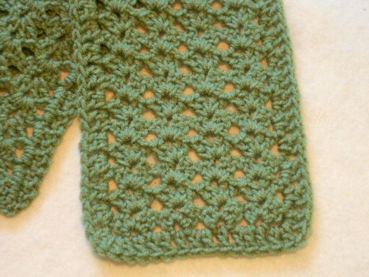 Crochet Scarf Patterns One Skein : Easy one skein scarf to crochet