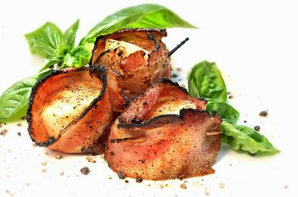 Grilled bacon-wrapped scallops | Food - Get in my Tummy! | Pinterest