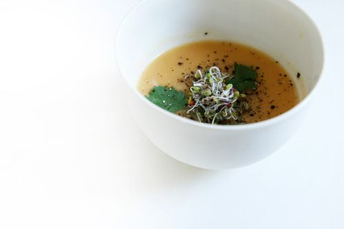 Pumpkin and Celery Root Soup | soups, stews, slow-cooker | Pinterest