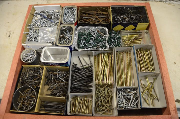 Pin by andrew smith on diy pinterest - Organizing nuts and bolts ...