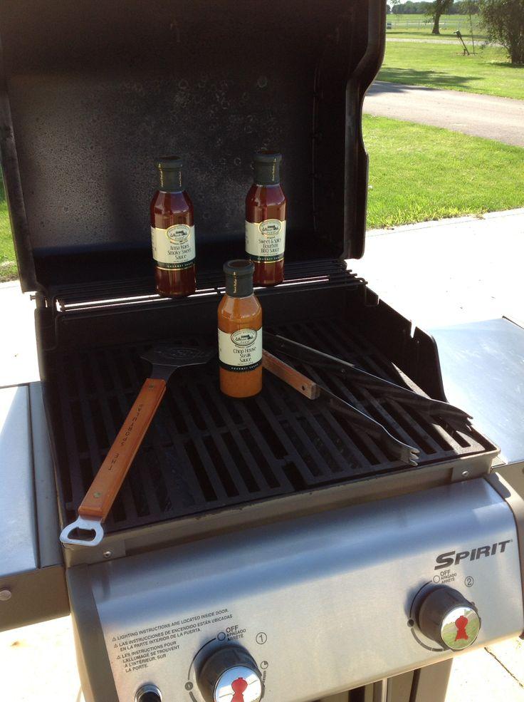 grilling sauces: Sweet Spicy Bourbon BBQ Sauce, Chop House Steak Sauce ...
