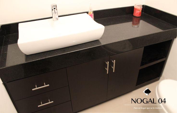Pin by claudia espinoza on muebles madera nogal 04 pinterest - Muebles de madera color nogal ...