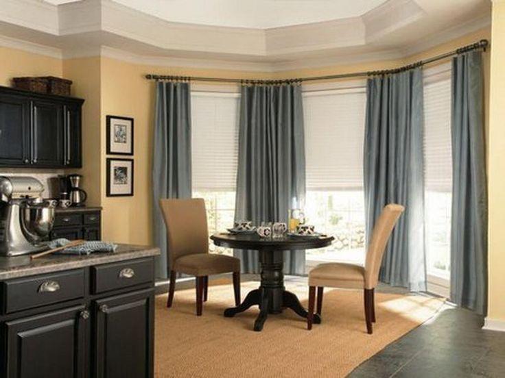 Large layered curtain ideas corner home pinterest