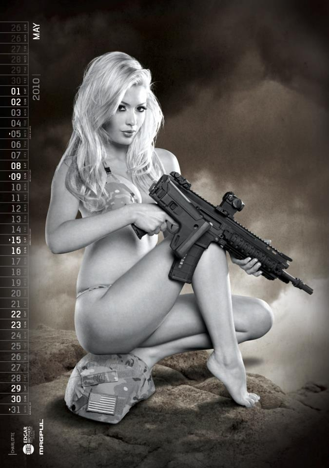Hot Shots Calendar | Firearms and the Lifestyle | Pinterest