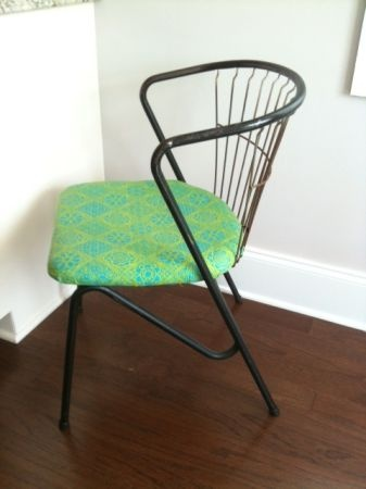 Lovely Vintage Wrought Iron Chair $50