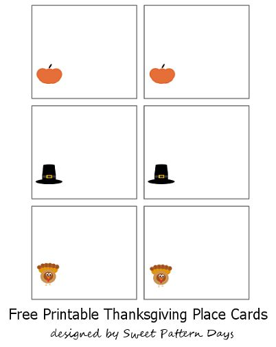 picture regarding Free Printable Thanksgiving Place Cards named Thanksgiving Position Playing cards Printables - Freebies - ieZombie Blog site