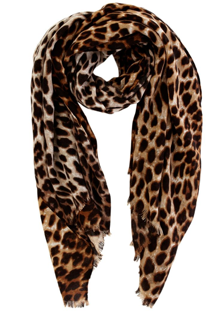 leopard scarf my style