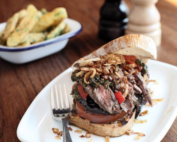 Argentinian Grilled Steak Sandwich Recipe by Diego Jacquet