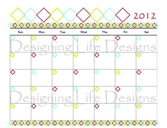 Calendar Printable | Printables by Designing Life | Pinterest
