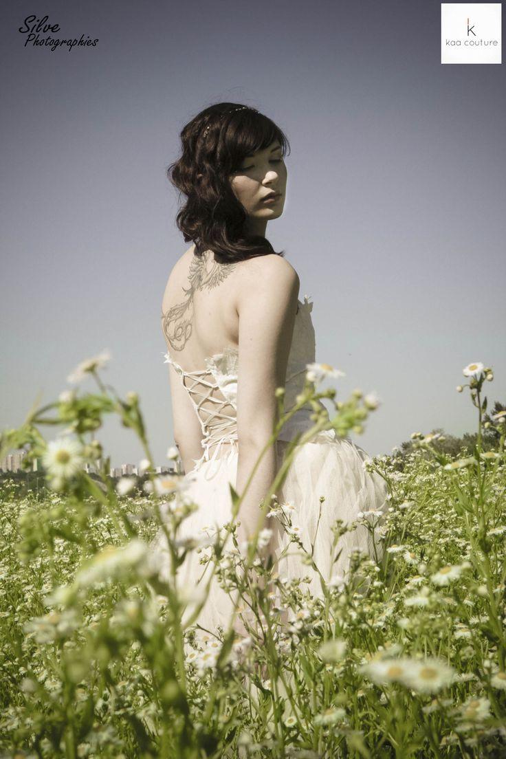kaa couture créatrice de robe de mariée à lyon shooting / bustier ...