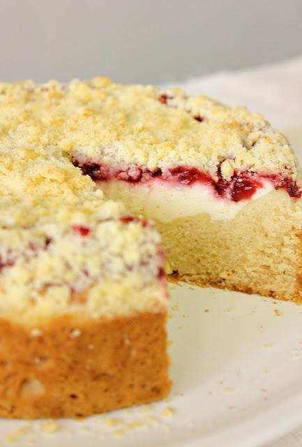 Coffee and Strawberry Cream Cheese Cake | Cheesecake | Pinterest