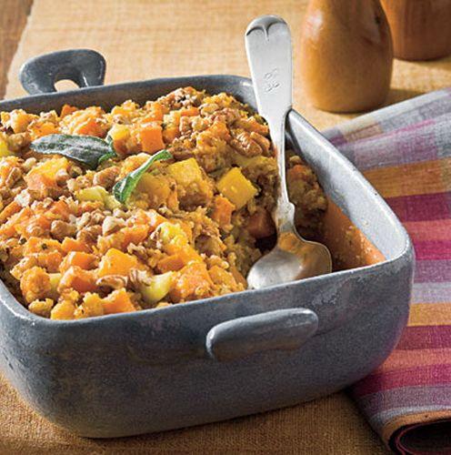 cornbread-stuffing-sweet-potato-squash | Potato Head | Pinterest