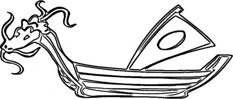 Dragonboatcolor in for Dragon boat coloring pages