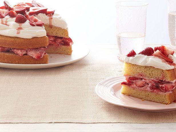Classic Strawberry Shortcake Recipe : Food Network Kitchens : Food ...