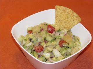 avocado pineapple cucumber salsa | Favorite Recipes | Pinterest