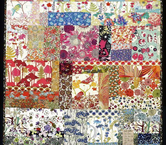 Gypsy Garden Boho Quilt Quilts Pinterest