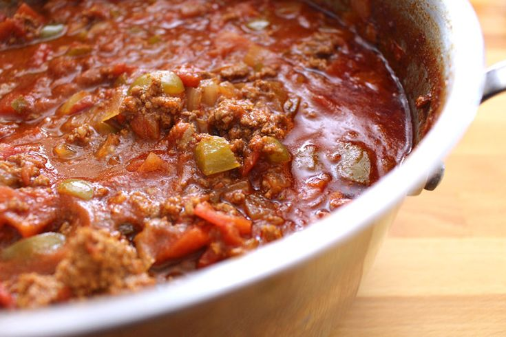 Beef Chili | Food/Cuisine | Pinterest